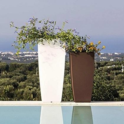 Vaso elegante per giardino moderno e semplice