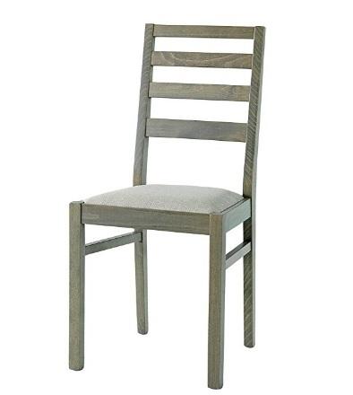 Sedie in legno classico tortora set 2