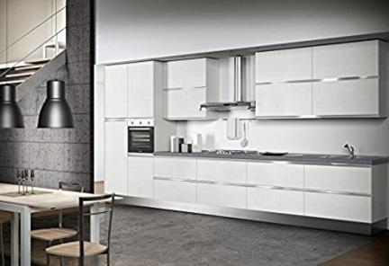 Cucina Completa Con Elettrodomestici Vari Colori Tinta Unita