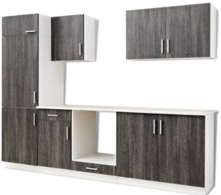 Arredo mobili wenge scuro per la cucina grandi sconti for Mobili giardino sconti