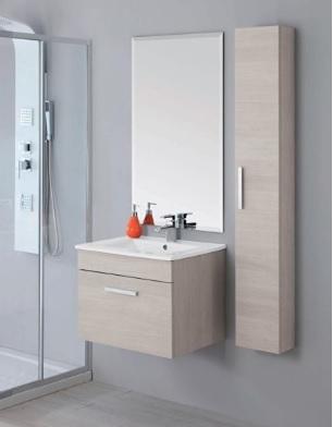 Mobili moderni sospesi per l'arredo del bagno