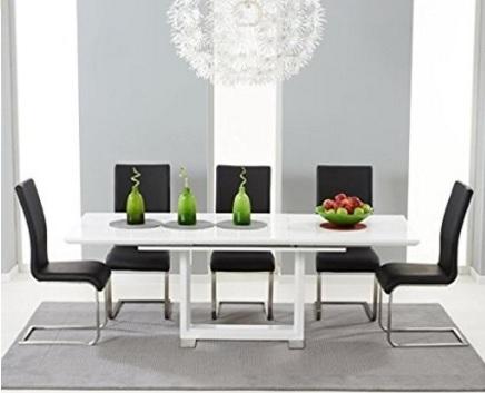 Tavolo allungabile lucido e moderno per la sala da pranzo | Grandi ...