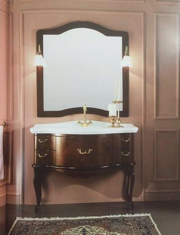 Mobile bagno classico in legno massello