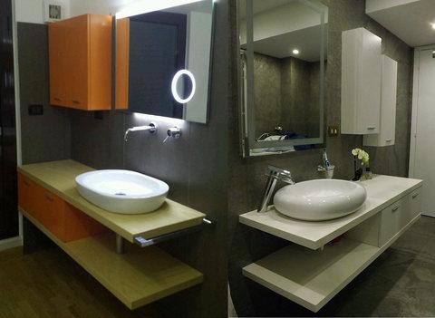 Arredo bagno moderno completo