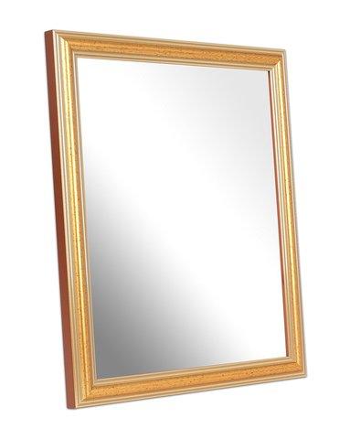 Bagno classico specchio cornice oro