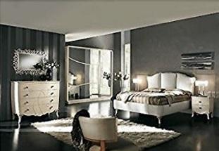 Camera matrimoniale stile elegante e classico