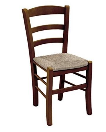 Sedia classica robusta in legno di faggio