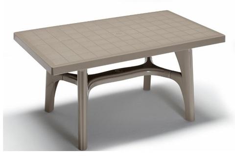 Tavolo rettangolare e basso contract