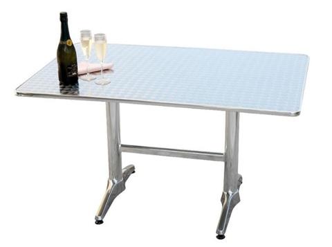 Tavolo da giardino in alluminio contract
