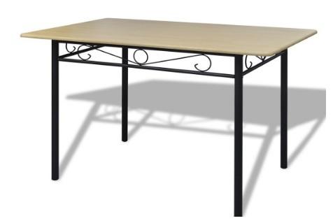 Tavolo e sedie per la cucina  struttura in mdf