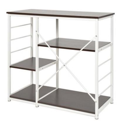 Tavolo struttura porta oggetti in mdf