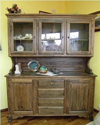 Credenza in arte povera in massello per la cucina grandi sconti mobili moderni - Mobili massello arte povera ...