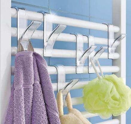 Appendiabiti per il bagno da poter appendere al termosifone