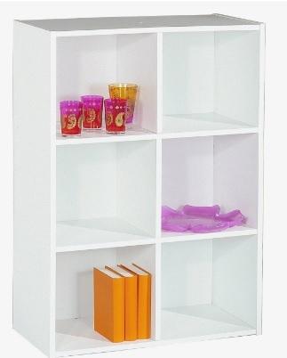 Libreria-scaffale per bambini forma cubica