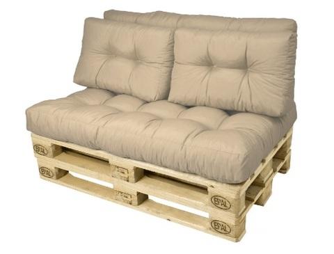 Cuscino per bancali per creare divani o poltrone