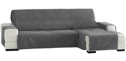 Rivestimento grigio per divano angolare