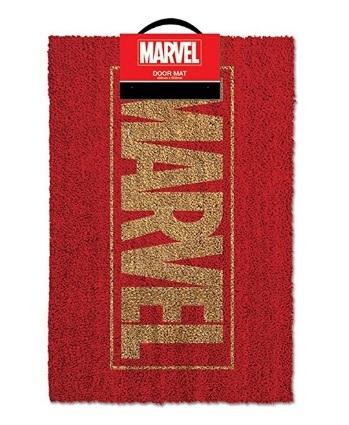 Zerbino Tappeto Con Logo Marvel
