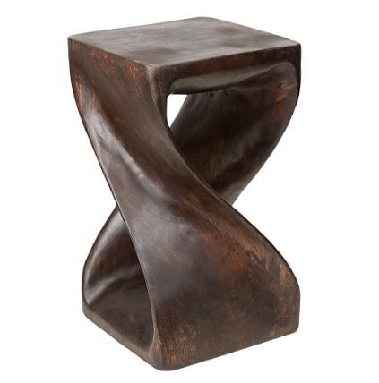 Sedia In Legno Cerato Dal Colore Marrone