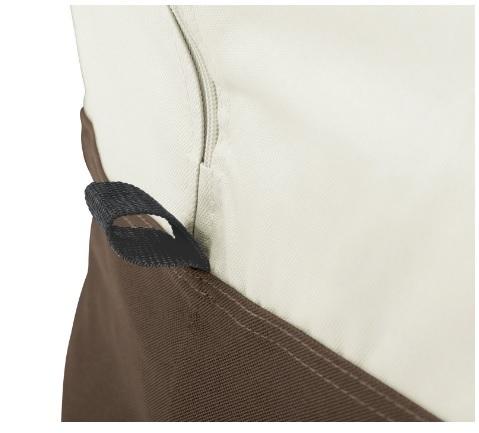 Sacca protezione impermeabile porta cuscini da giardino