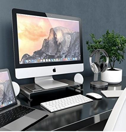 Base porta tv in alluminio moderno porta tastiera