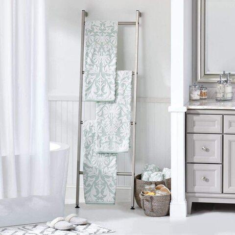 Scala porta oggetti per il bagno mdf