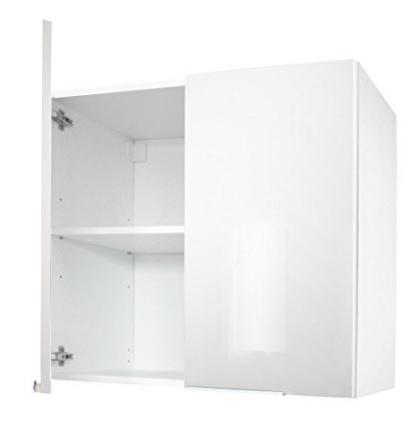 Mobile classico sospeso per la cucina bianco