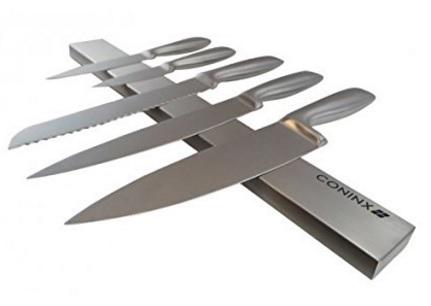 Barra magnetica per coltelli per la cucina