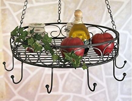 Porta oggetti e alimenti sospeso al soffitto