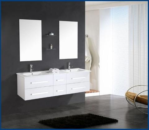 Mobili bagno completi doppio lavabo