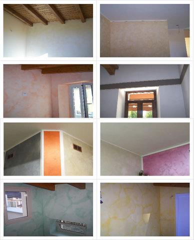 Foto pareti tinteggiate