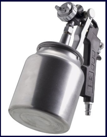 casa Aspiratore per vernice pneumatica 2.0mm Aspirazione per ugello Aria compressa per pulizia manuale per auto decorazione Pistola per verniciatura PQ-2 legno