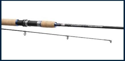 Canna da pesca da 2 metri spinning carbon