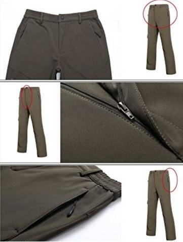Pantaloni lunghi per la pesca a prova di vento