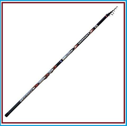 Canna da pesca bolognese 7 metri