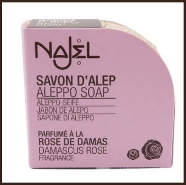 Sapone Di Aleppo Rosa Damascena