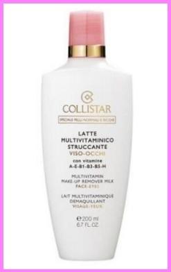 Cosmetica corpo collistar latte struccante multivitaminico