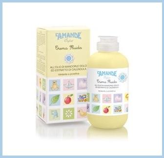 Crema olio mandorle e calendula per neonati e bambini