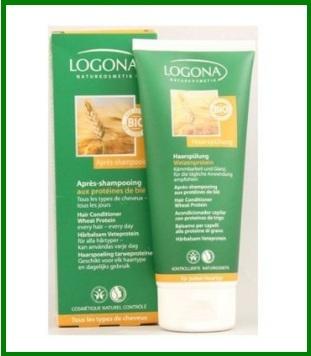 Shampoo Naturale Alle Proteine Di Grano Logona