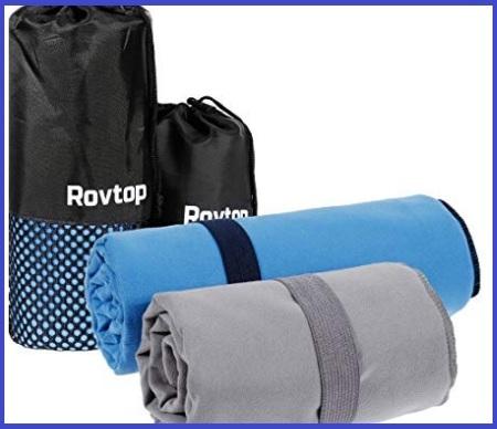Asciugamani microfibra set
