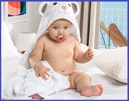 Asciugamano neonato cotone 100%