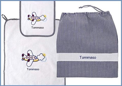Asciugamano personalizzato asilo