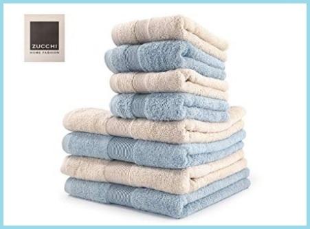 Set asciugamani bagno zucchi
