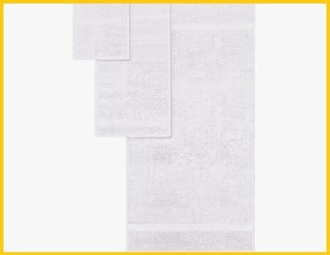 Set Asciugamani Hotel Bianco