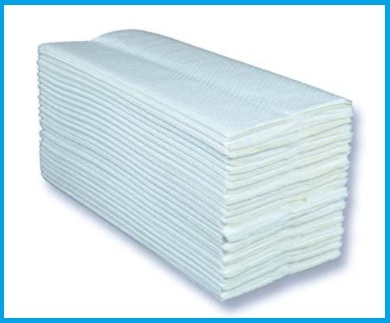 Asciugamani carta con dispenser bagno