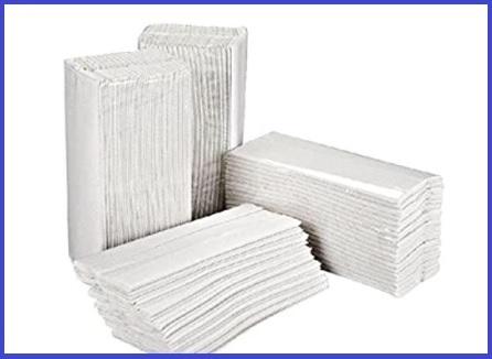 Asciugamani carta monouso per dispenser