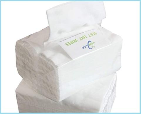 Asciugamano in carta secco