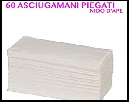 Asciugamani Estetista In Carta