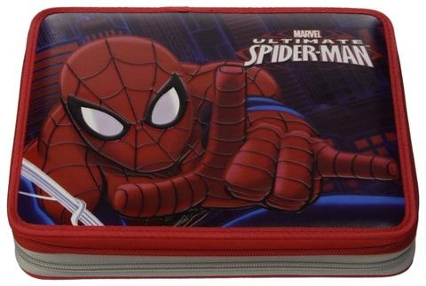 Astuccio di spiderman per la scuola doppia cerniera
