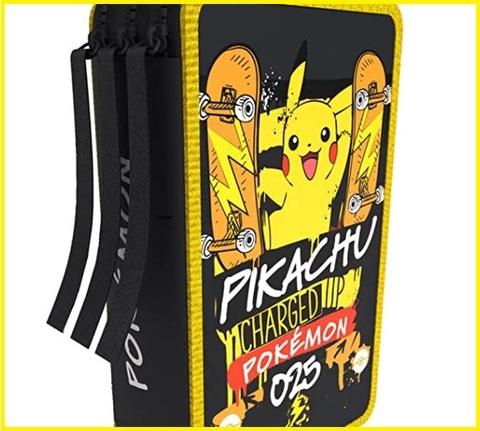 Astuccio 3 Scomparti Pokemon