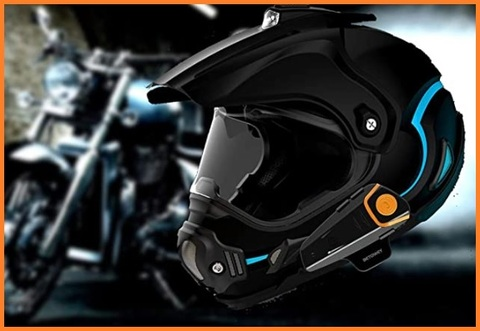 Auricolari bluetooth casco modulare